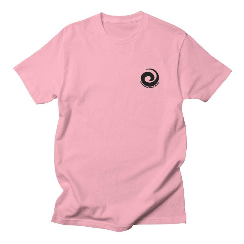 Prescription Records Small Logo (Black) Women's Regular Unisex T-Shirt by HiFi Brand