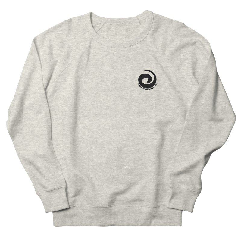 Prescription Records Small Logo (Black) Women's Sweatshirt by HiFi Brand