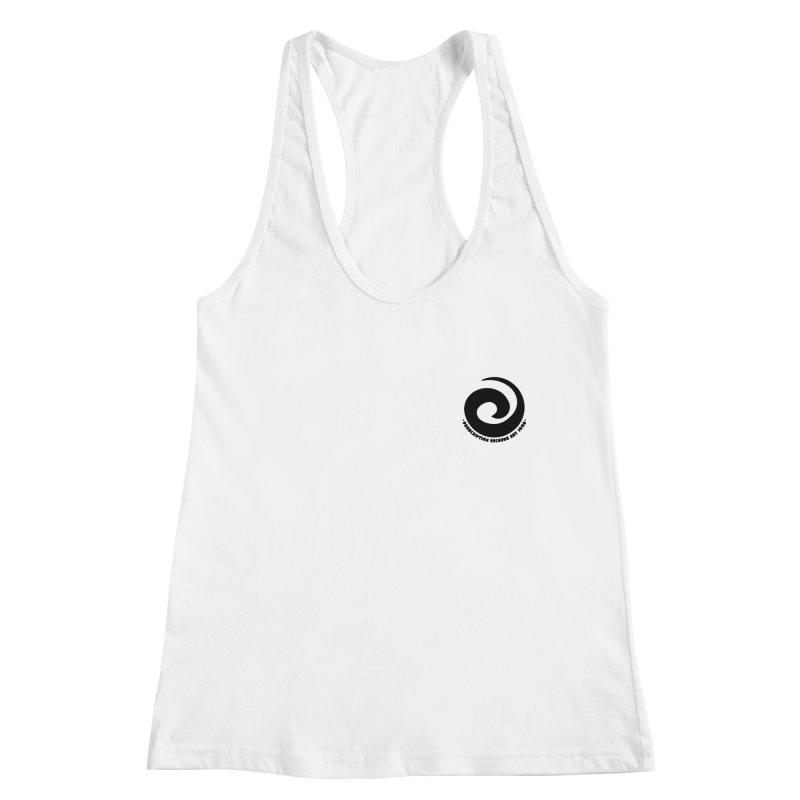 Prescription Records Small Logo (Black) Women's Tank by HiFi Brand