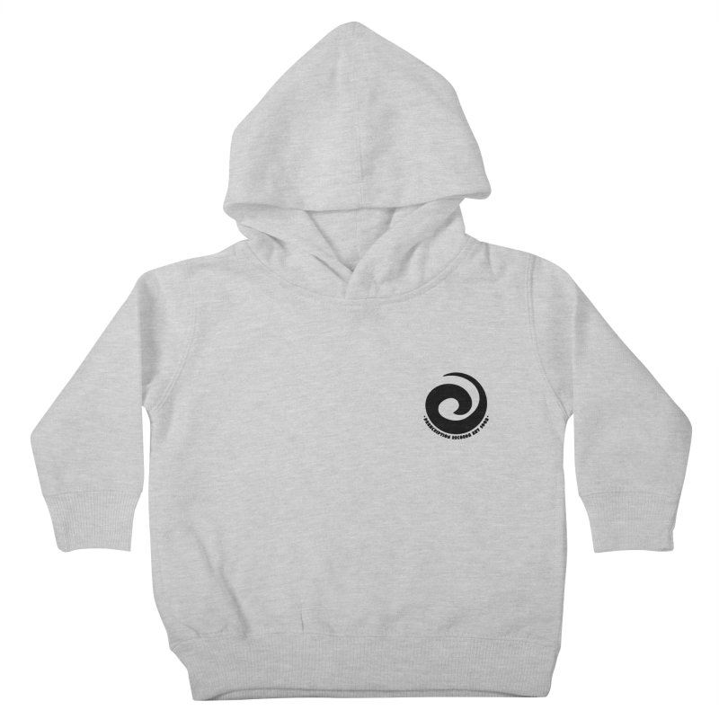 Prescription Records Small Logo (Black) Kids Toddler Pullover Hoody by HiFi Brand