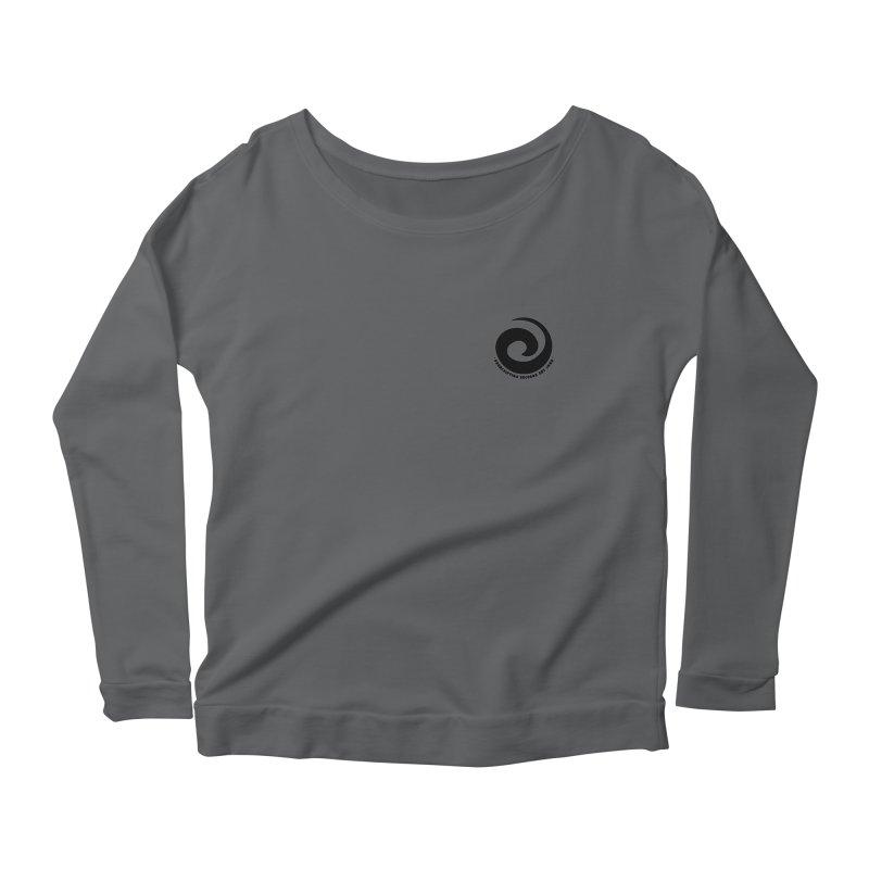 Prescription Records Small Logo (Black) Women's Longsleeve T-Shirt by HiFi Brand