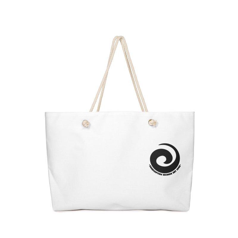 Prescription Records Small Logo (Black) Accessories Bag by HiFi Brand
