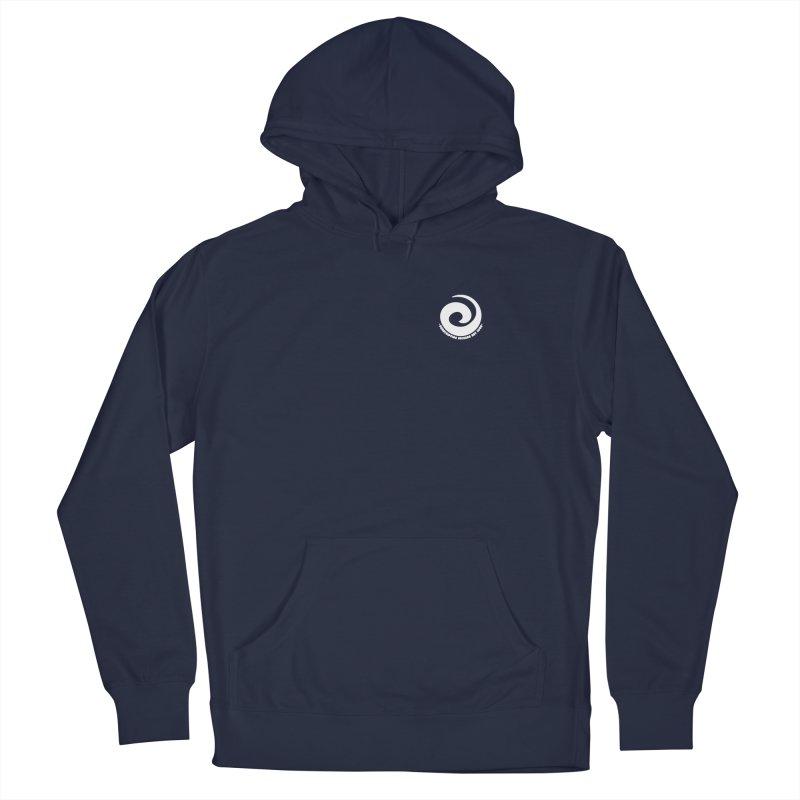 Prescription Records Small Logo (White) Men's Pullover Hoody by HiFi Brand