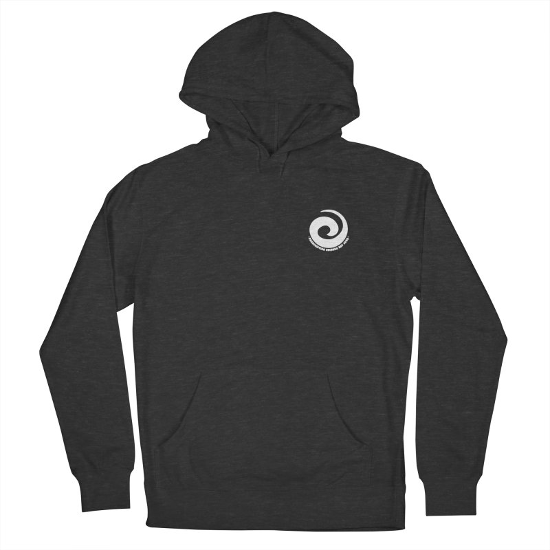 Prescription Records Small Logo (White) Men's French Terry Pullover Hoody by HiFi Brand
