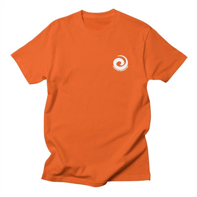 Prescription Records Small Logo (White) Women's Regular Unisex T-Shirt by HiFi Brand