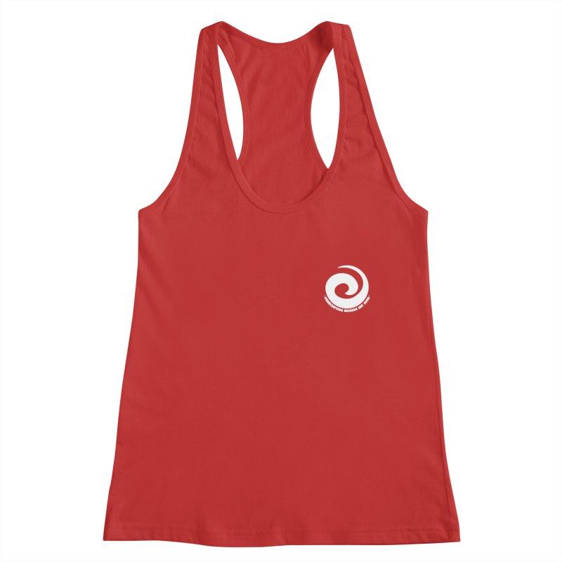 Prescription Records Small Logo (White) Women's Tank by HiFi Brand