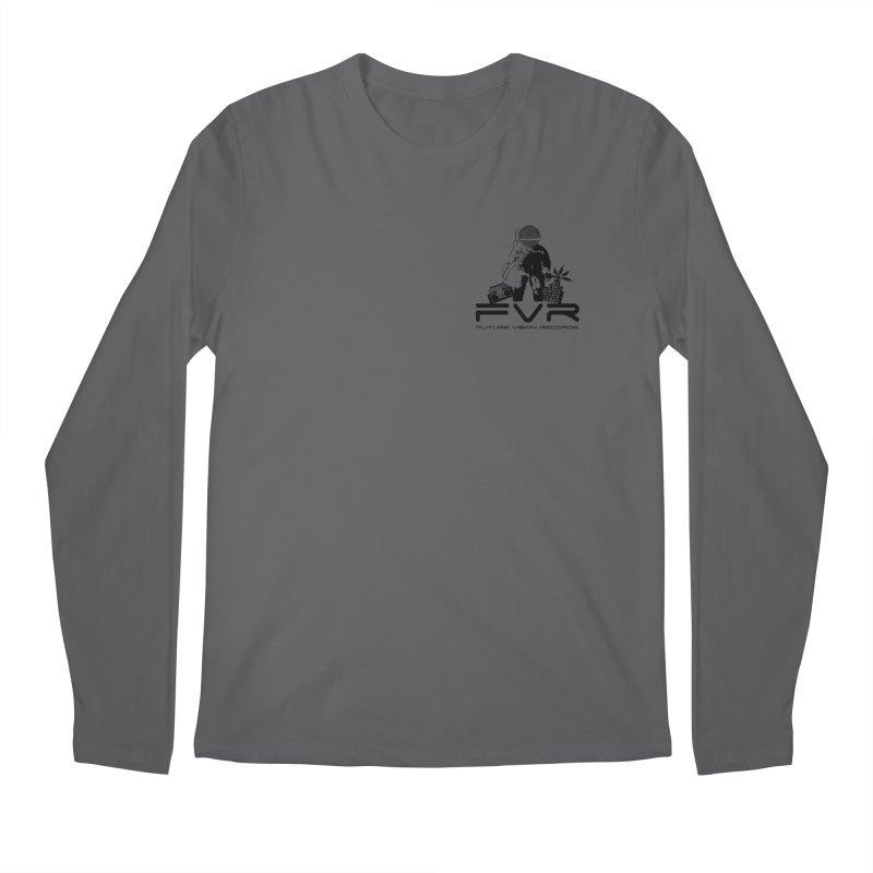 Future Vision Small Logo (Black) Men's Longsleeve T-Shirt by HiFi Brand
