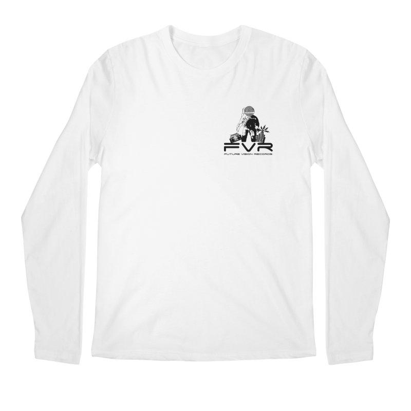 Future Vision Small Logo (Black) Men's Regular Longsleeve T-Shirt by HiFi Brand