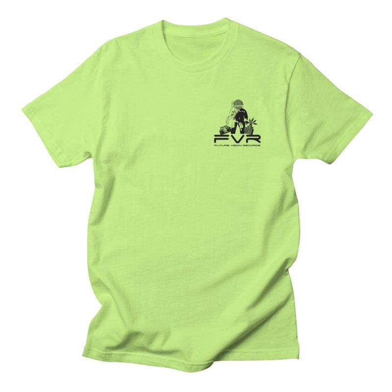 Future Vision Small Logo (Black) Women's Regular Unisex T-Shirt by HiFi Brand