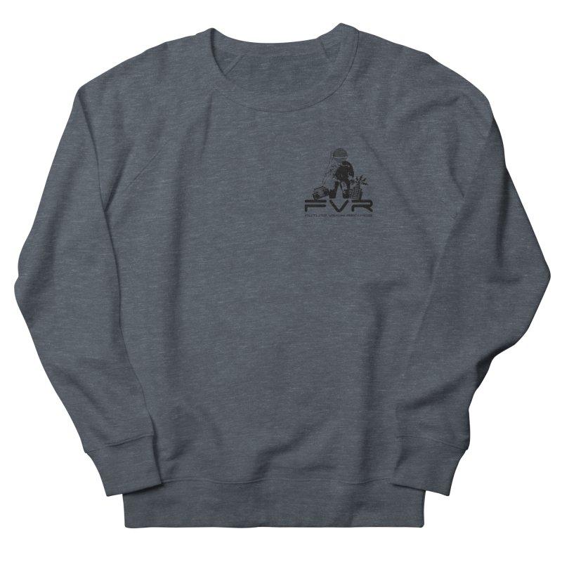 Future Vision Small Logo (Black) Women's French Terry Sweatshirt by HiFi Brand