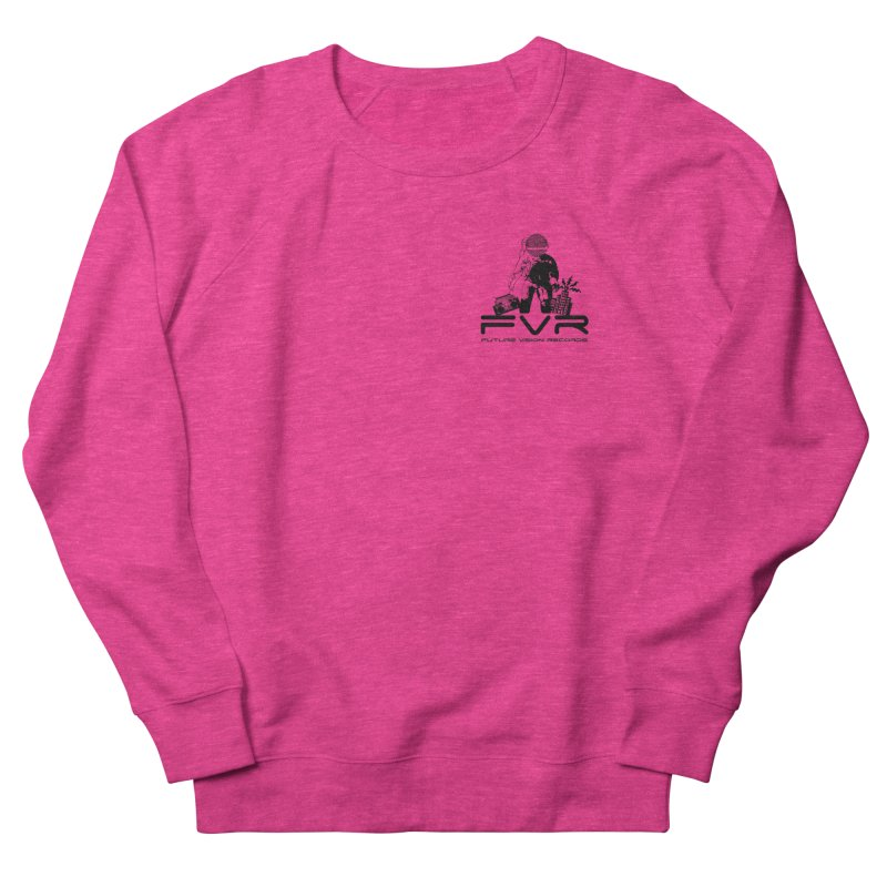 Future Vision Small Logo (Black) Men's French Terry Sweatshirt by HiFi Brand