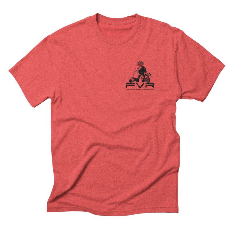 Future Vision Small Logo (Black) Men's Triblend T-Shirt by HiFi Brand
