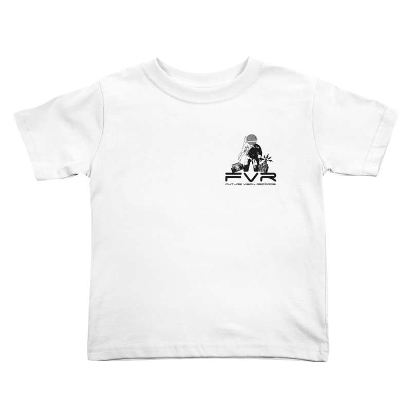 Future Vision Small Logo (Black) Kids Toddler T-Shirt by HiFi Brand