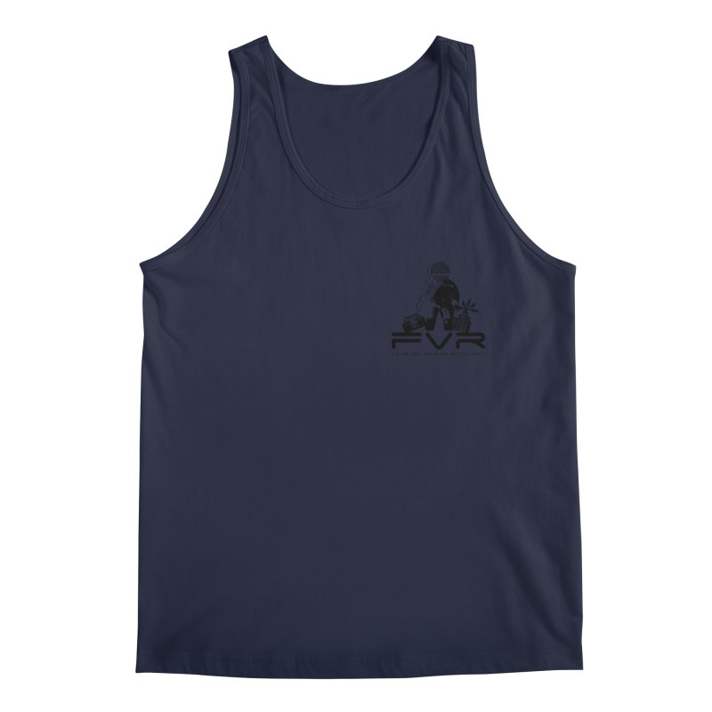 Future Vision Small Logo (Black) Men's Tank by HiFi Brand