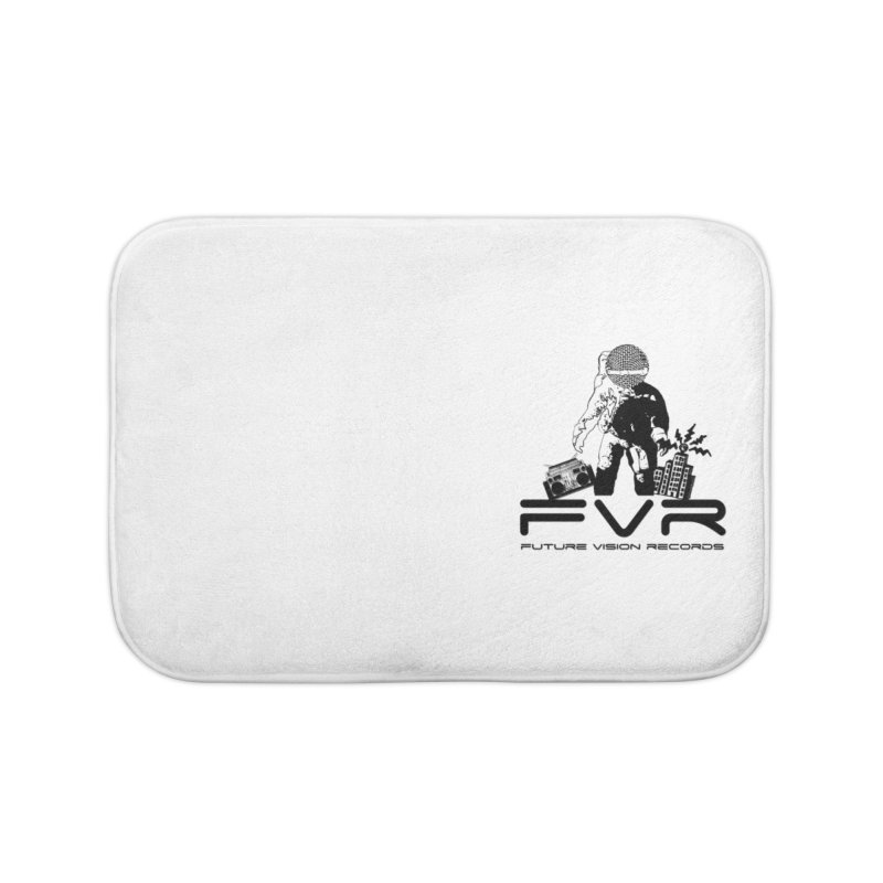 Future Vision Small Logo (Black) Home Bath Mat by HiFi Brand