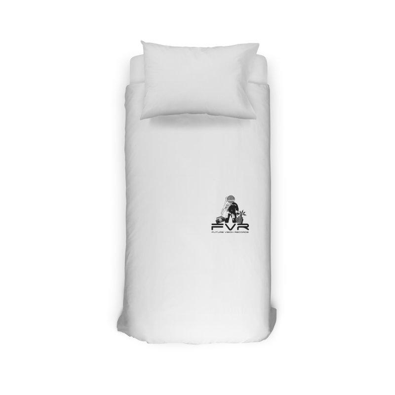 Future Vision Small Logo (Black) Home Duvet by HiFi Brand