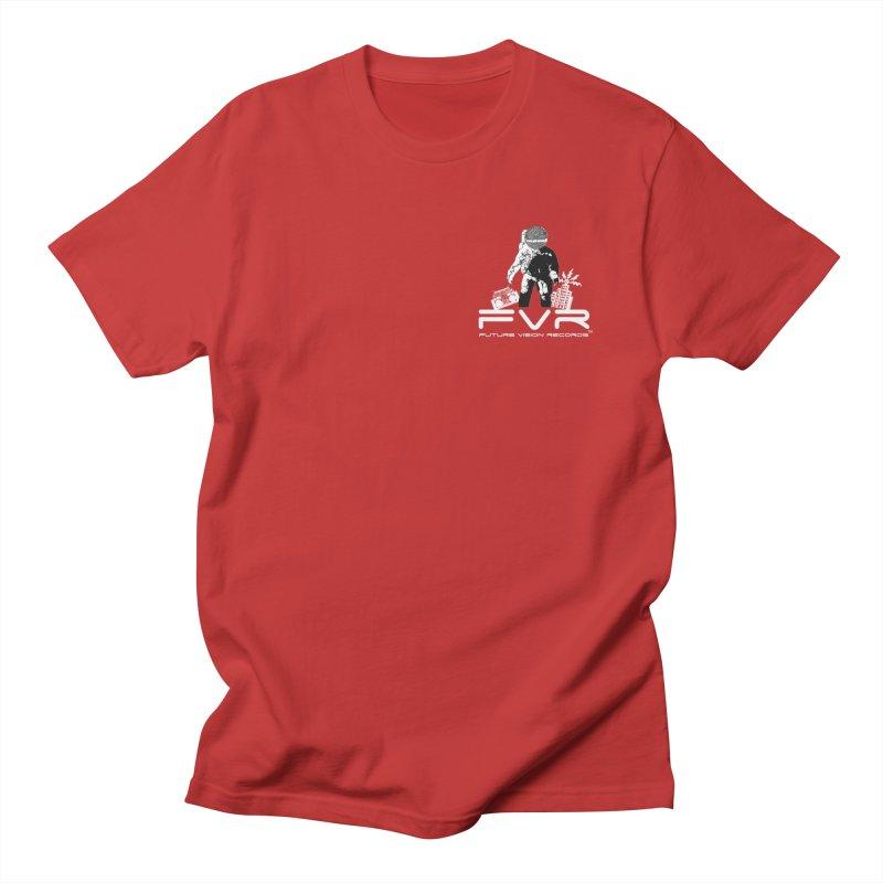 Future Vision Records Small Logo (White) Women's T-Shirt by HiFi Brand