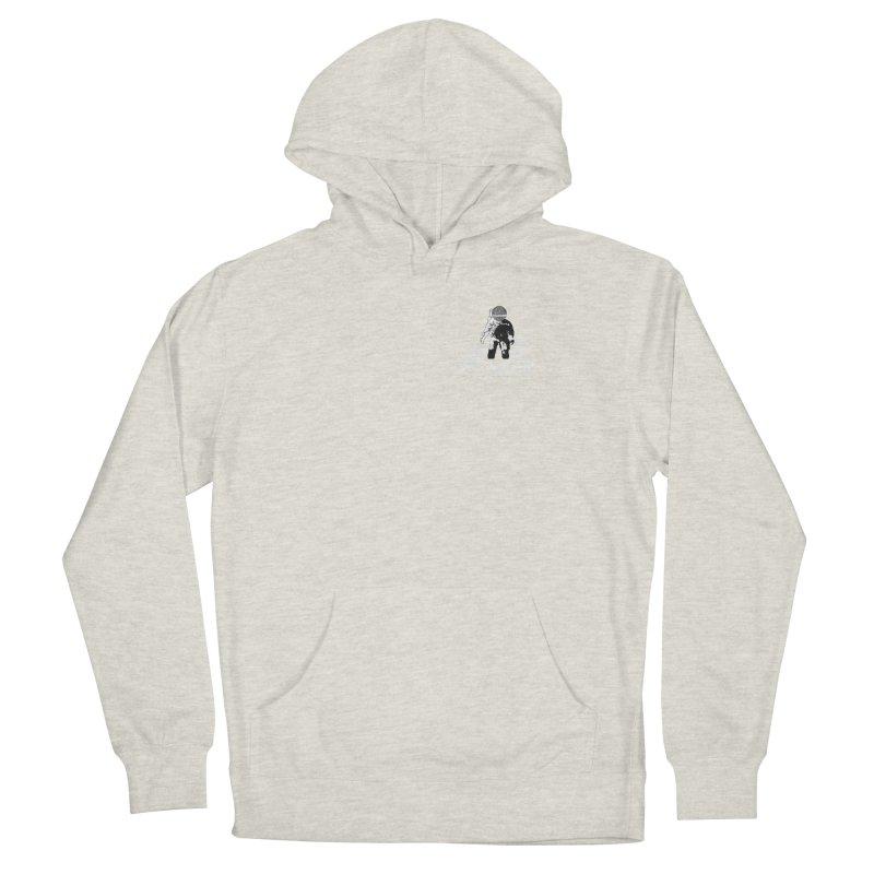 Future Vision Records Small Logo (White) Men's Pullover Hoody by HiFi Brand