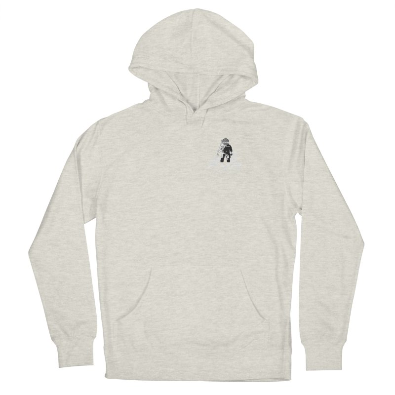 Future Vision Records Small Logo (White) Women's Pullover Hoody by HiFi Brand