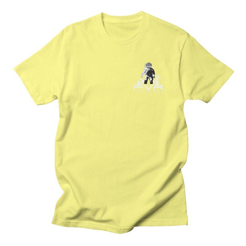 Future Vision Records Small Logo (White) Men's T-Shirt by HiFi Brand
