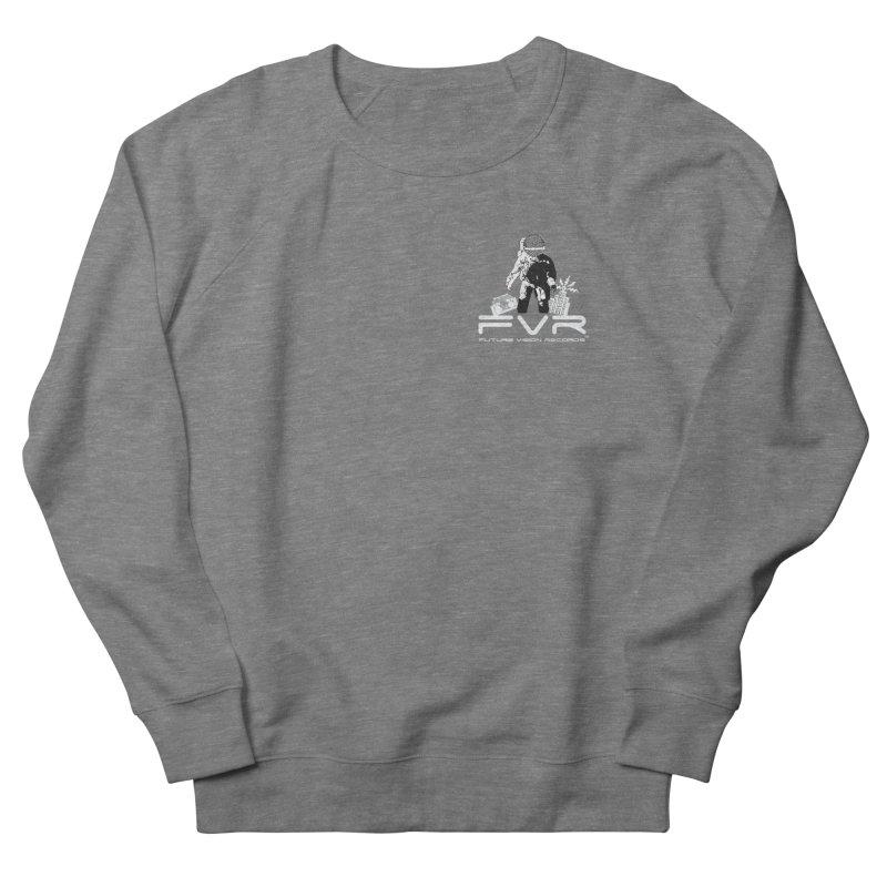 Future Vision Records Small Logo (White) Women's Sweatshirt by HiFi Brand