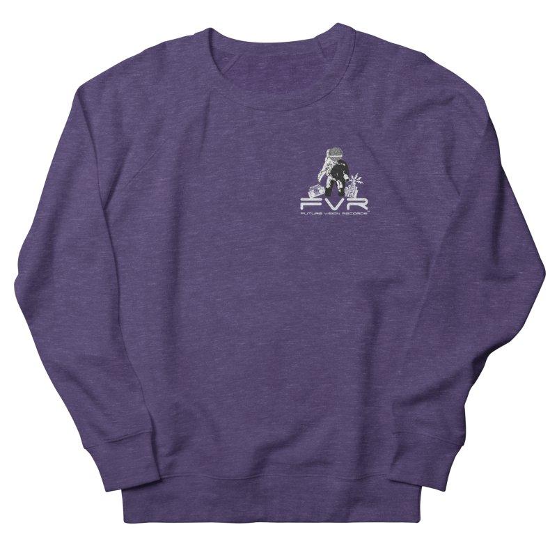 Future Vision Records Small Logo (White) Men's Sweatshirt by HiFi Brand