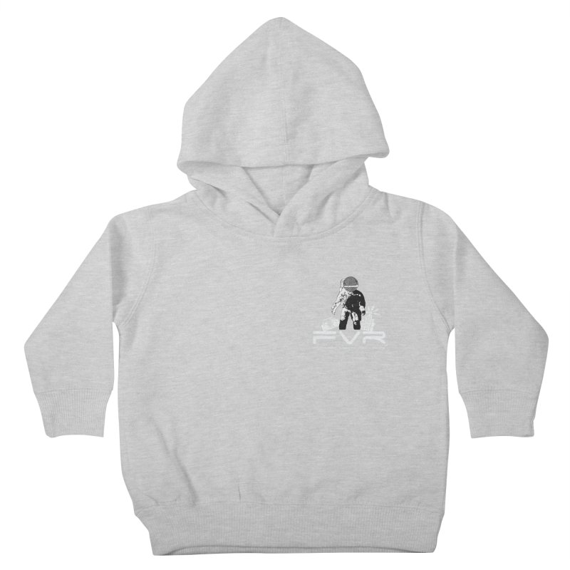 Future Vision Records Small Logo (White) Kids Toddler Pullover Hoody by HiFi Brand