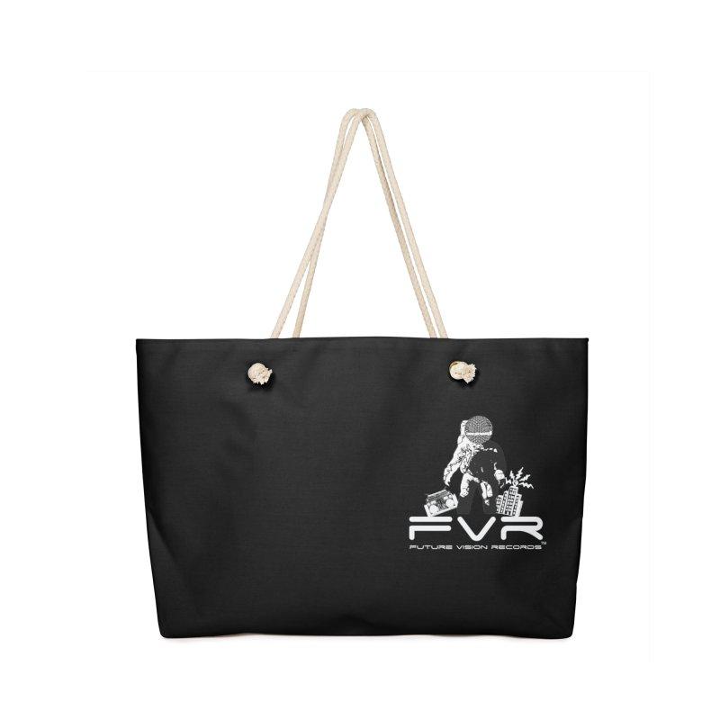 Future Vision Records Small Logo (White) Accessories Bag by HiFi Brand