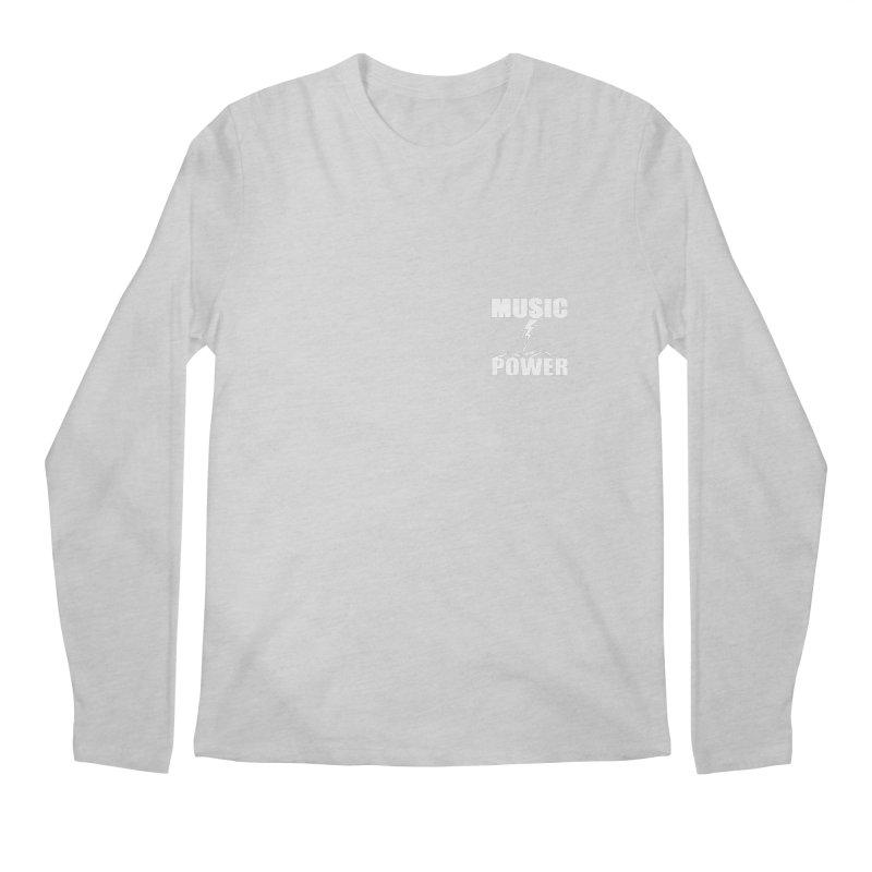 MAP Small Logo (White) Men's Longsleeve T-Shirt by HiFi Brand