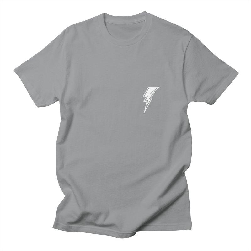 Flash Small Logo (White) Women's Regular Unisex T-Shirt by HiFi Brand