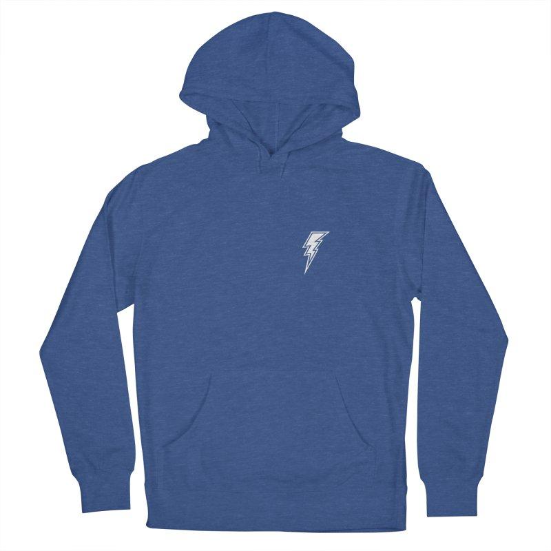 Flash Small Logo (White) Men's Pullover Hoody by HiFi Brand
