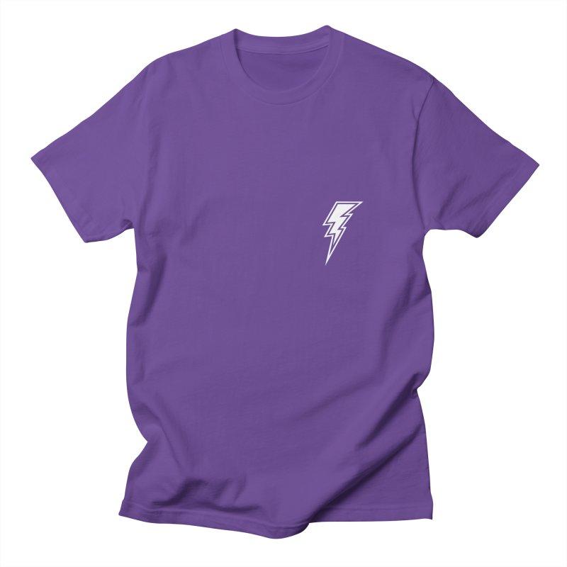 Flash Small Logo (White) Women's T-Shirt by HiFi Brand