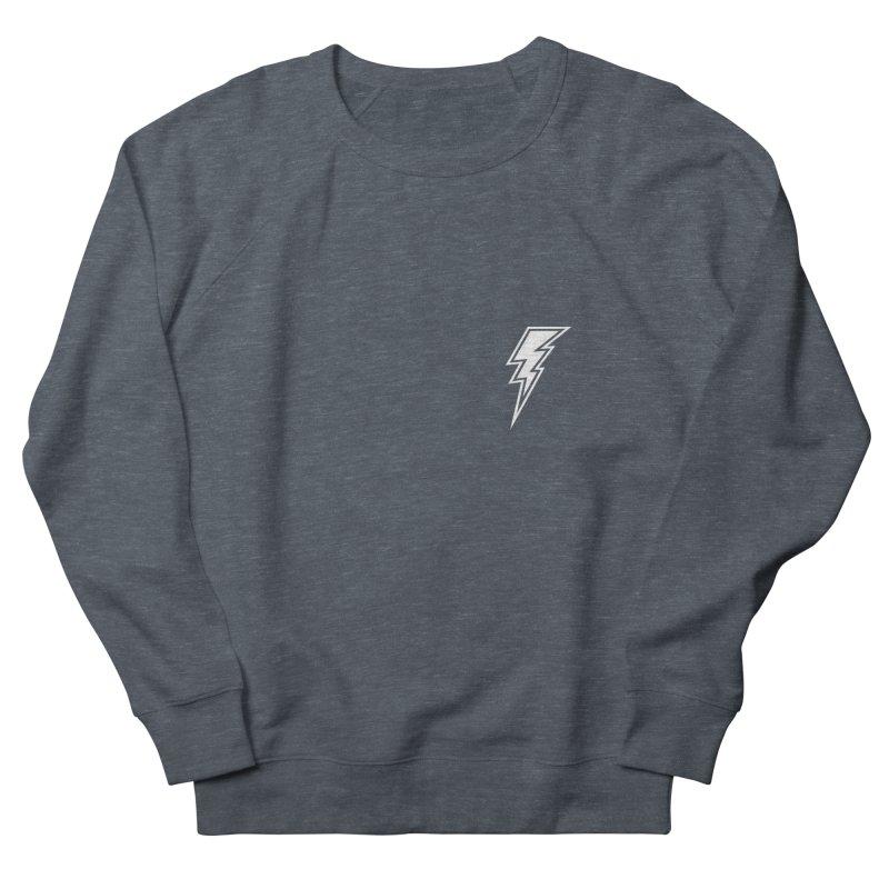 Flash Small Logo (White) Women's Sweatshirt by HiFi Brand