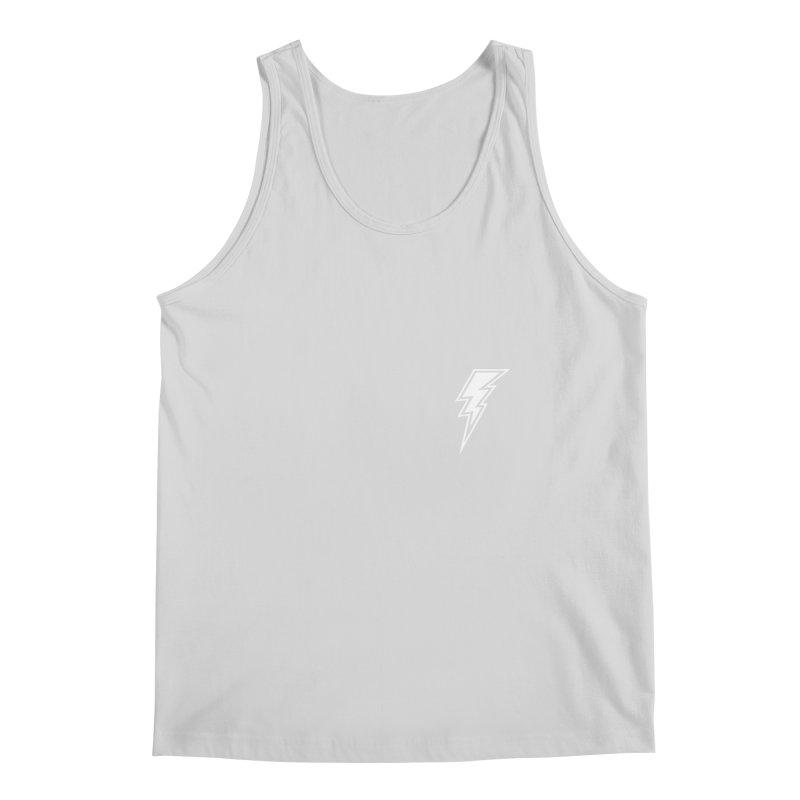 Flash Small Logo (White) Men's Tank by HiFi Brand