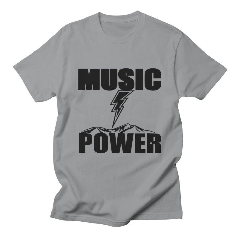 MAP Big Logo (Black) Women's Regular Unisex T-Shirt by HiFi Brand