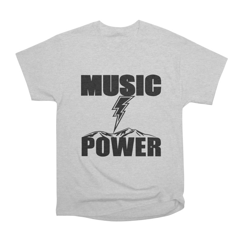 MAP Big Logo (Black) Men's T-Shirt by HiFi Brand