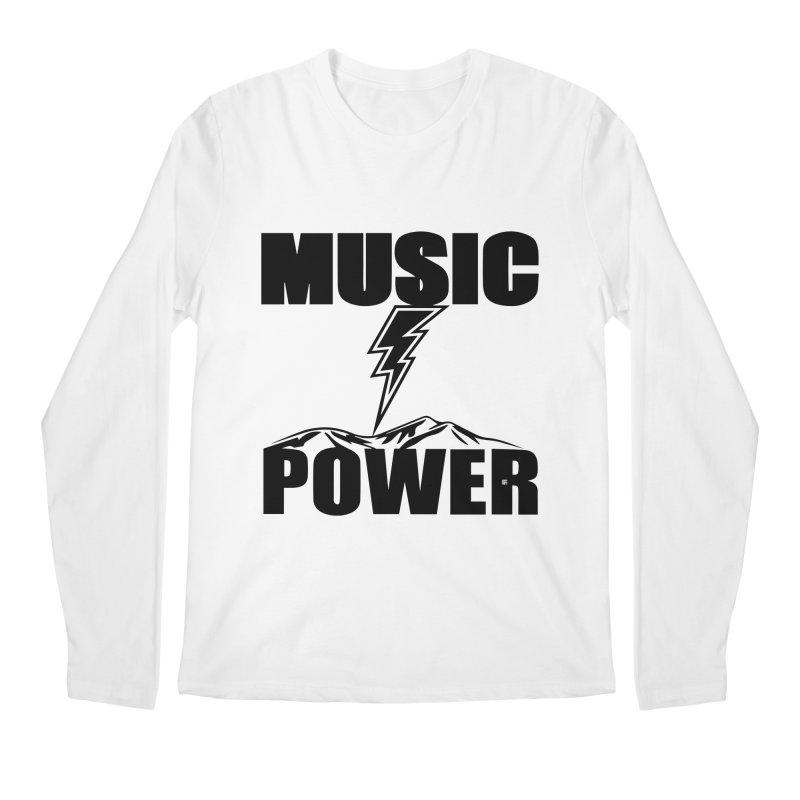 MAP Big Logo (Black) Men's Longsleeve T-Shirt by HiFi Brand