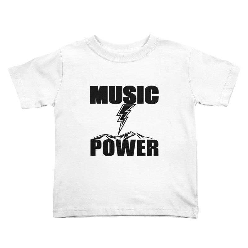 MAP Big Logo (Black) Kids Toddler T-Shirt by HiFi Brand