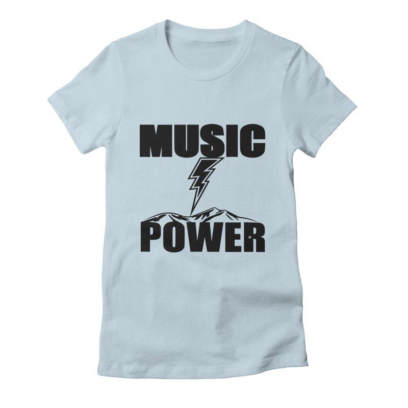 MAP Big Logo (Black) Women's T-Shirt by HiFi Brand