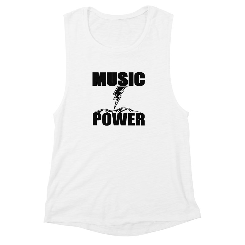 MAP Big Logo (Black) Women's Muscle Tank by HiFi Brand