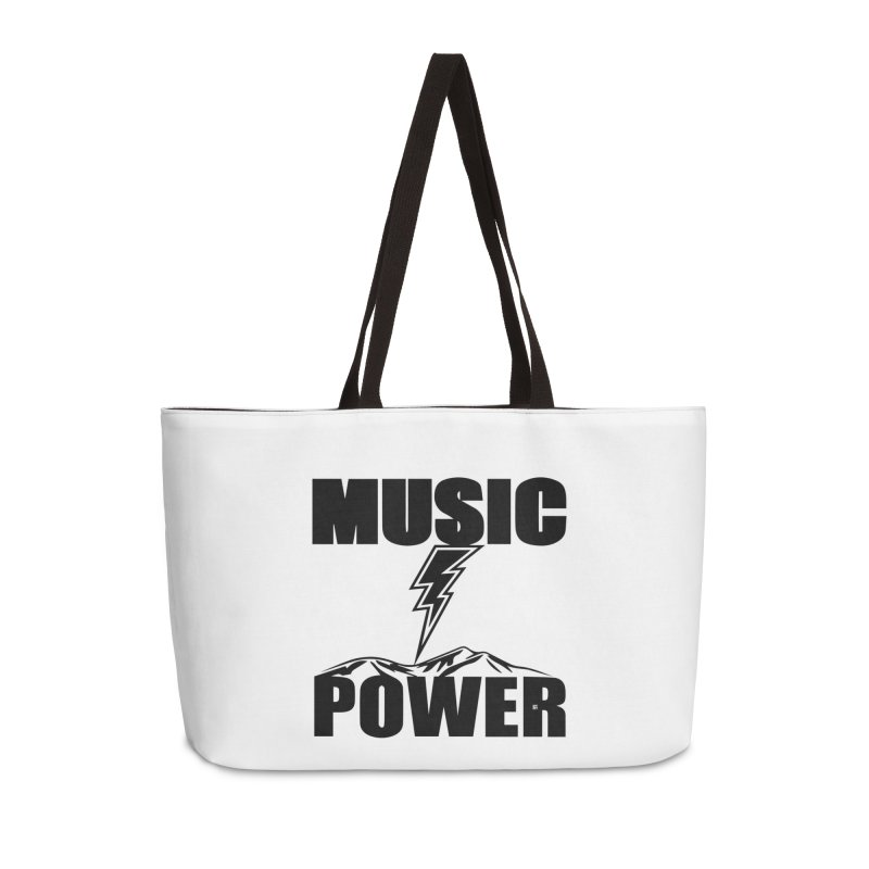 MAP Big Logo (Black) Accessories Weekender Bag Bag by HiFi Brand