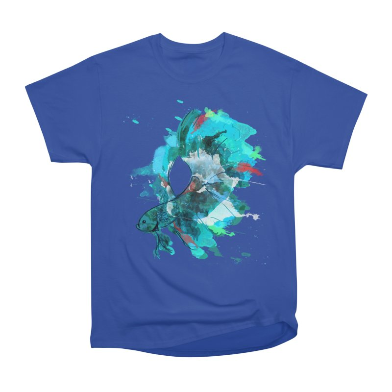 Mr. Betta Women's Classic Unisex T-Shirt by The Hidden Squid