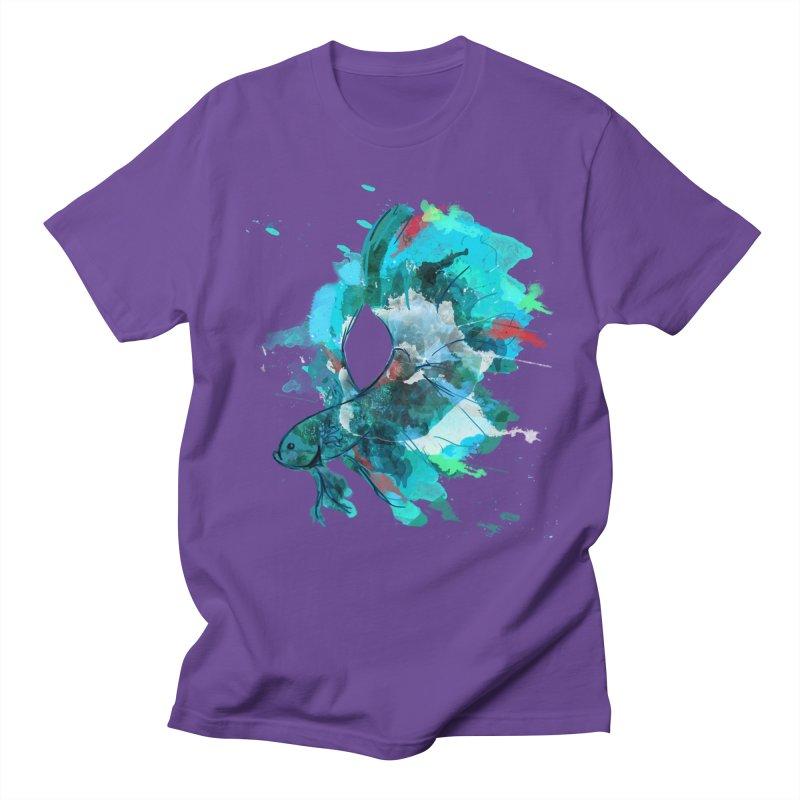 Mr. Betta Women's Regular Unisex T-Shirt by The Hidden Squid