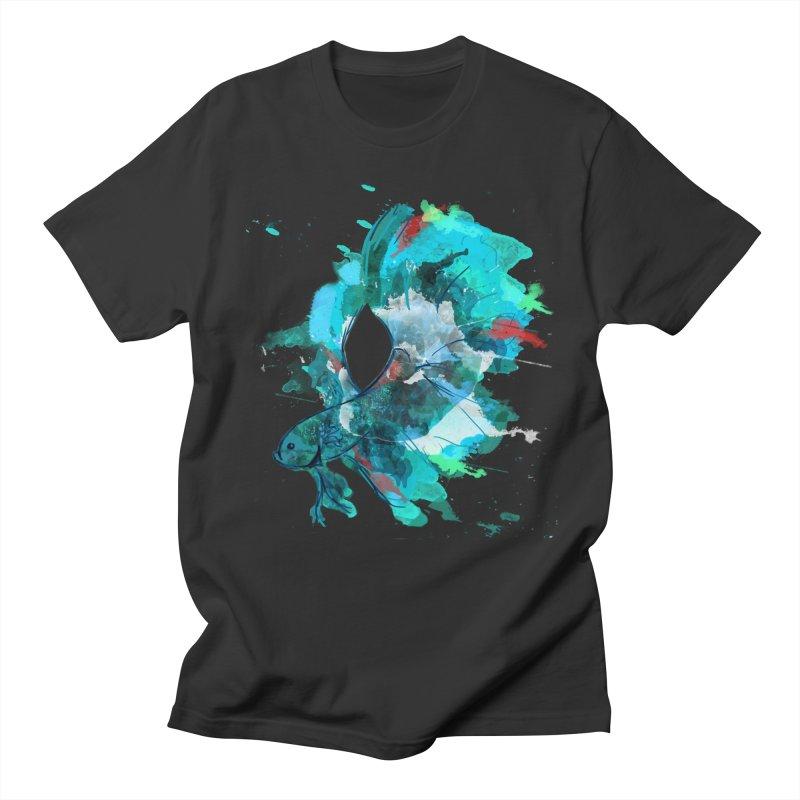 Mr. Betta Women's Unisex T-Shirt by The Hidden Squid