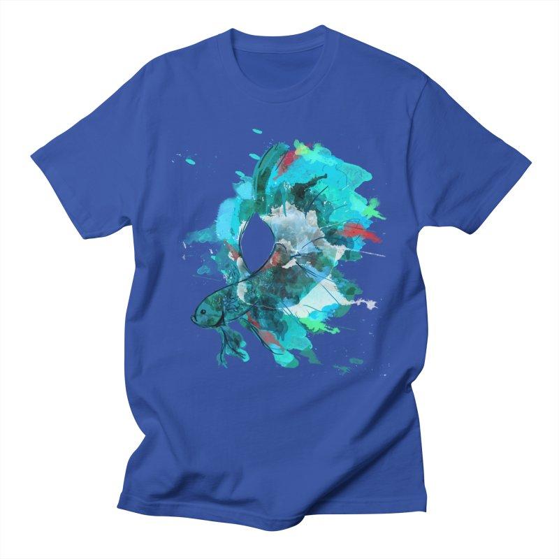 Mr. Betta Men's T-Shirt by The Hidden Squid