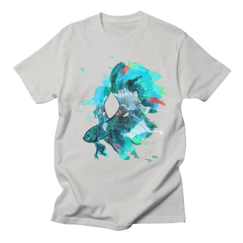 Mr. Betta Men's Regular T-Shirt by The Hidden Squid