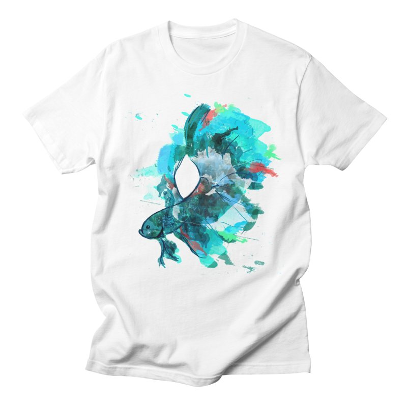 Mr. Betta Men's T-Shirt by The Hidden Squid