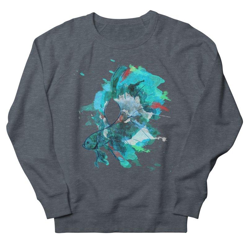 Mr. Betta Men's Sweatshirt by The Hidden Squid