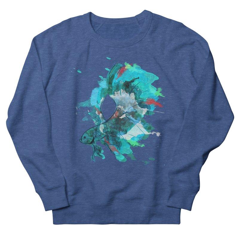 Mr. Betta Men's French Terry Sweatshirt by The Hidden Squid