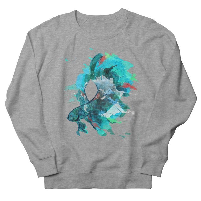 Mr. Betta Men's Sweatshirt by The Hidden Squid